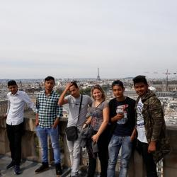 sortie Paris 2017